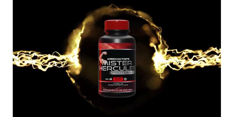 Mr. Hércules, Suplemento alimenticio para aumentar masa muscular
